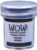 WOW! Embossing Powder - Ebony - WH00R